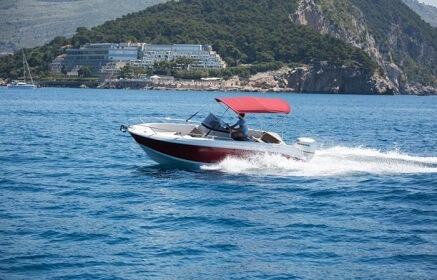 dubrovnik private boat tour atlantic open 670
