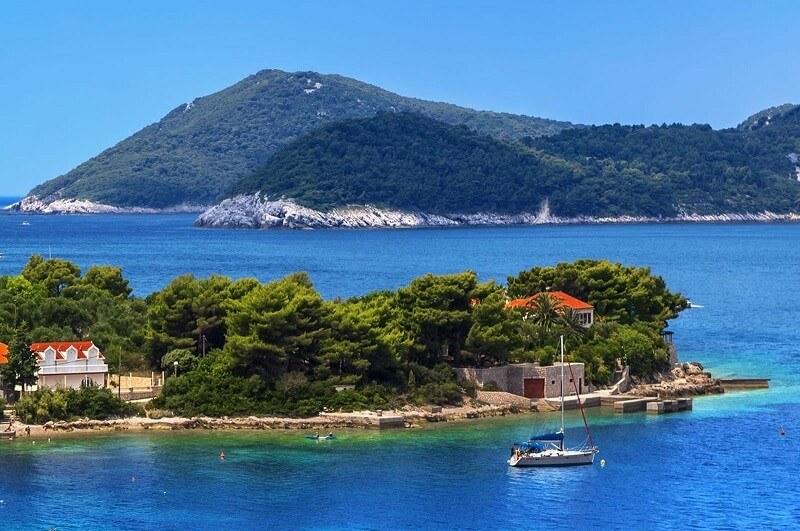 dubrovnik island of kolocep boat tour