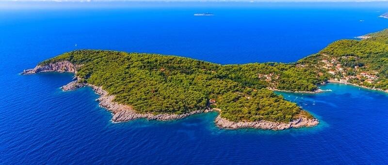 kolocep island near dubrovnik boat tour